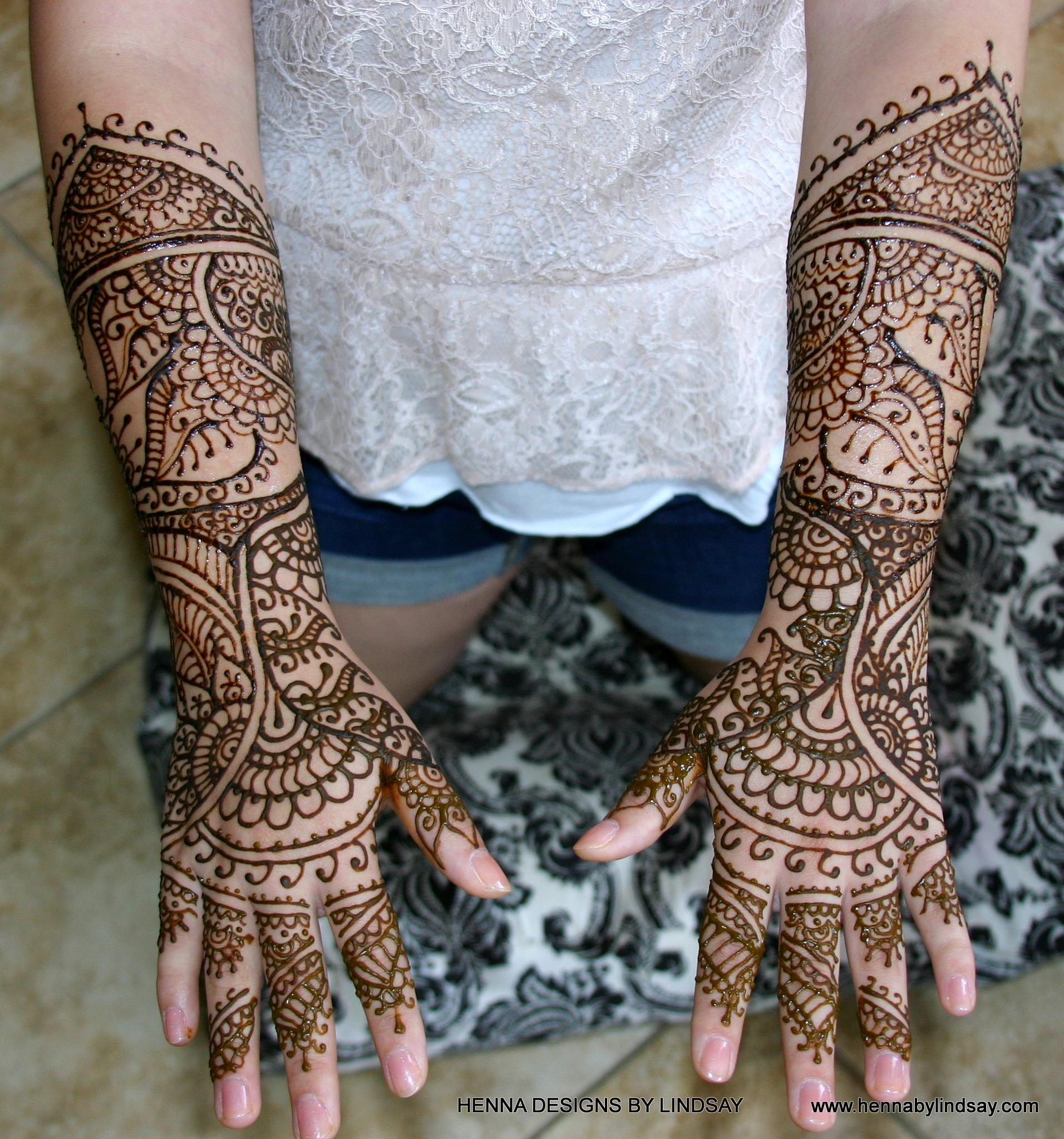 Bridal Henna: Henna Designs By Lindsay