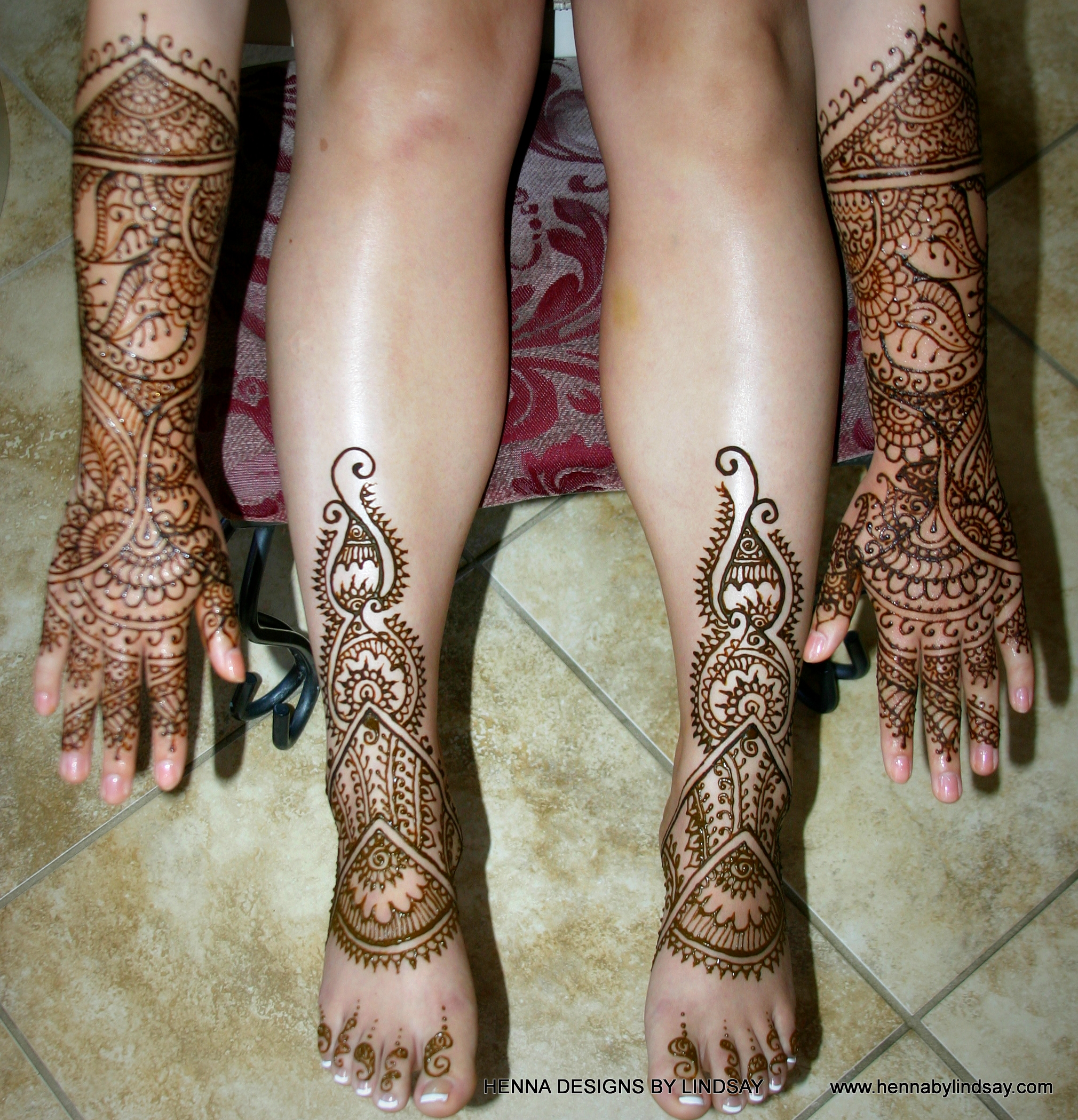 Mehndi For Hands And Legs : Blessingway henna designs by lindsay